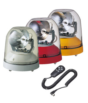 Patlite HS-24A HS-12A Remote Control Search Light for emeregncy services