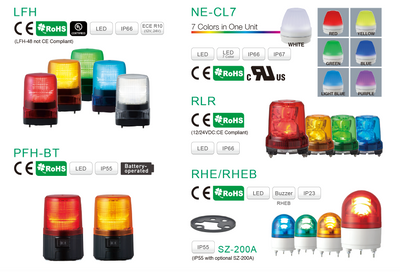 Highest Quality. Exceptional Pricing. Largest Range of Warning Lights