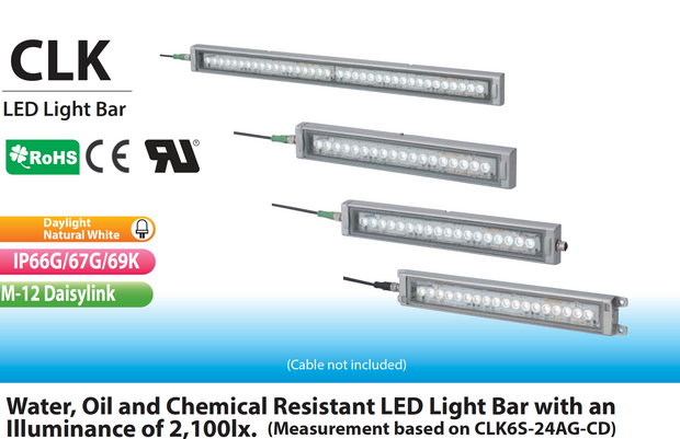 PATLITE CLK-AG IP69K LED Lighting Water Oil Chemical Proof IP66G IP67G IP69K CNC food medicine LED