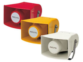 Patlite EWS Horn Speaker Alarm Melody Australia Europe USA NZ UK