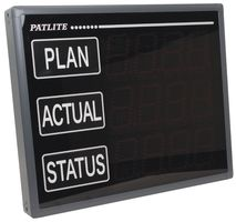 PATLITE & SIGNALFX Production Monitoring System, LED Display Board