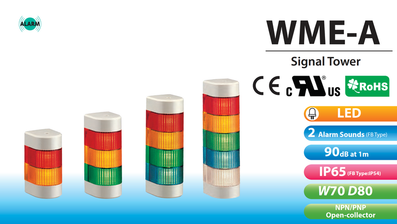 PATLITE SIGNALFX WME WME-A LED Signal Light Status Indication Australia LED Tower Light Waring