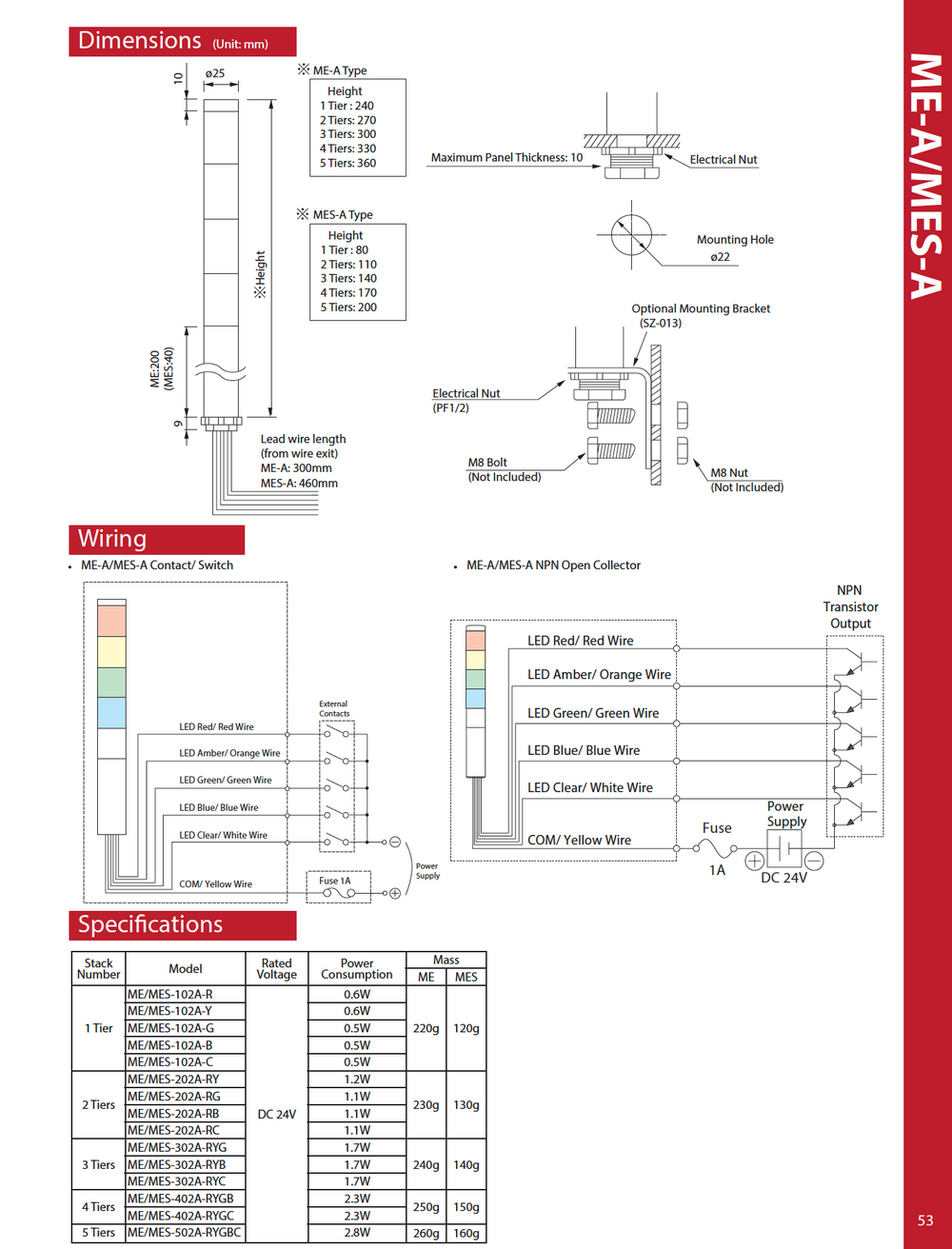 Patlite Lme Wiring Diagram Simple Detailed Skf Signal Tower Diagrams