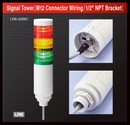 patlite lr6 lrw-wc lr6-02wc lr6-302wcnw-ryg lr6-302wcbw-ryg led signal tower light australia new zealand machine indication smart factory m12 connector npt bracket pole red amber green yellow signalfx