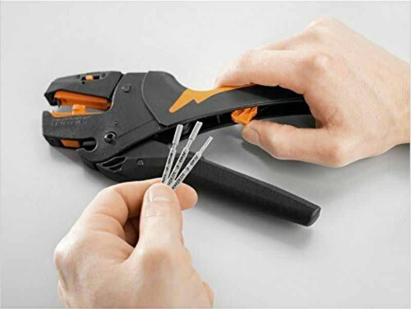 Weidmuller Stripax World's best automatic wire cutting stripping stripper tool high grade industrial automation electrician telecommunication electrics