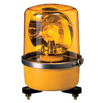 Patlite SKP SKP-A SKP-101A SKP-101A-Y SKP-102A-Y Signalfx Rotating Beacon Warning Light Komatsu