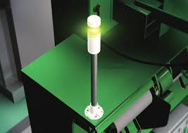 Patlite SignalFx LR6-102WJNW-G GREEN LED Signal Tower Light Machine Safety Indication
