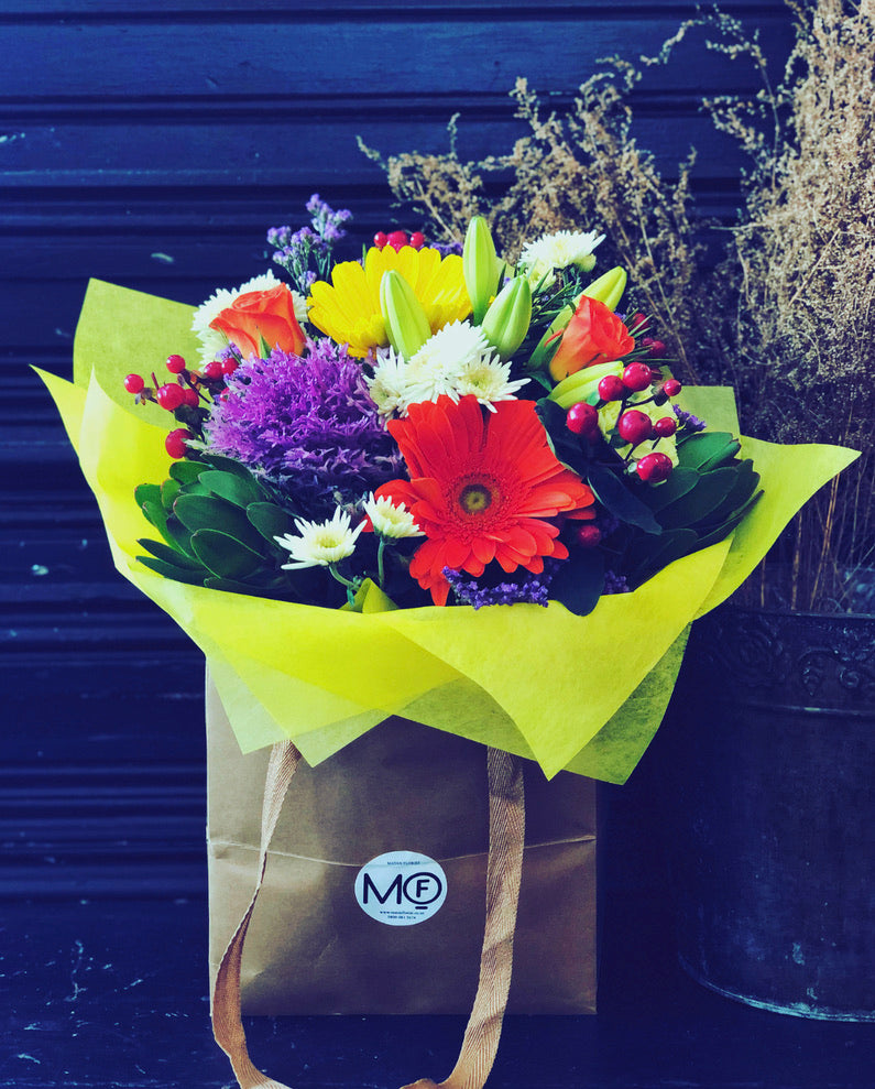 The Flower Bag - Colourful