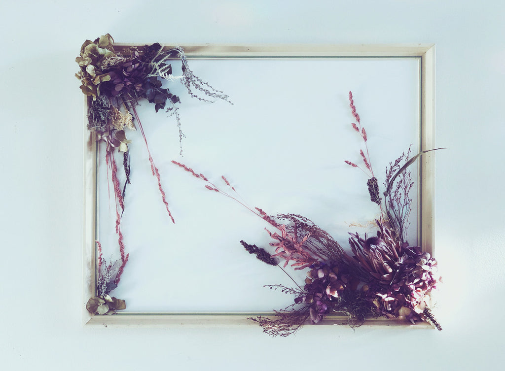 Dried & Faux - Floral Frame 1