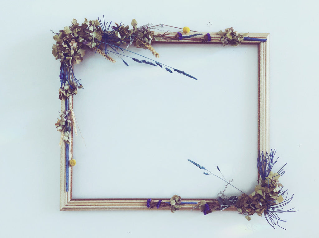 Dried & Faux - Floral Frame 2