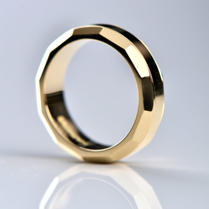 An 18ct yellow gold ring made to replace one that was lost