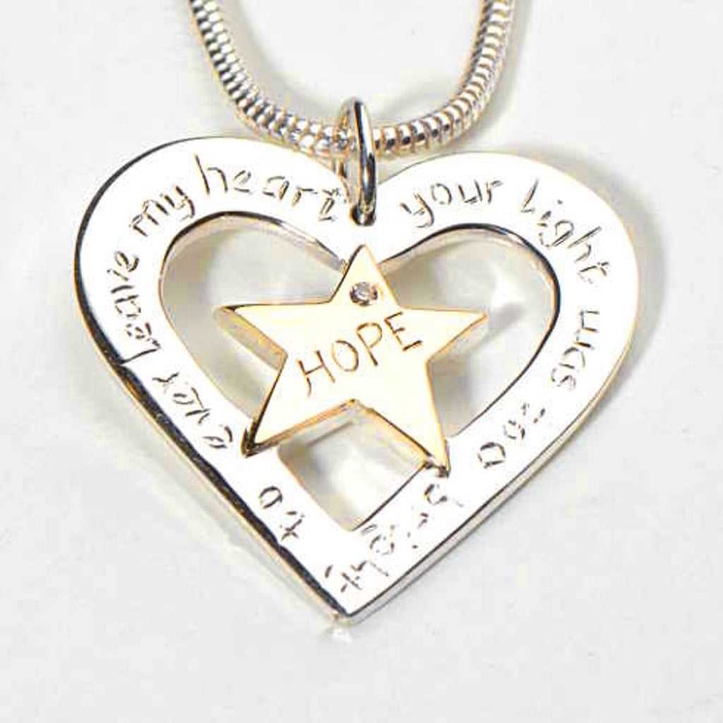 Jewellery with personal meaning to celebrate the life of a child.