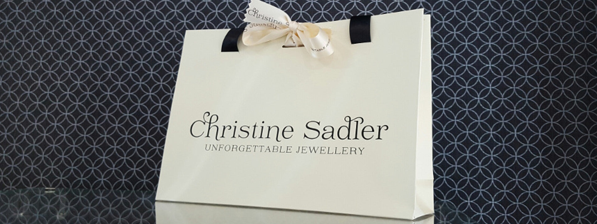 9d3a09f0a00 Explore unforgettable jewellery designs by Christine Sadler. Each item  comes in a beautiful wooden gift box