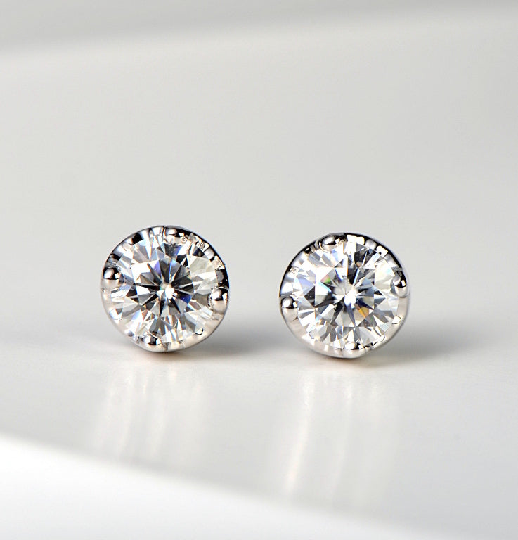 moissanite-earrings