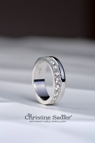 diamond-set-ring