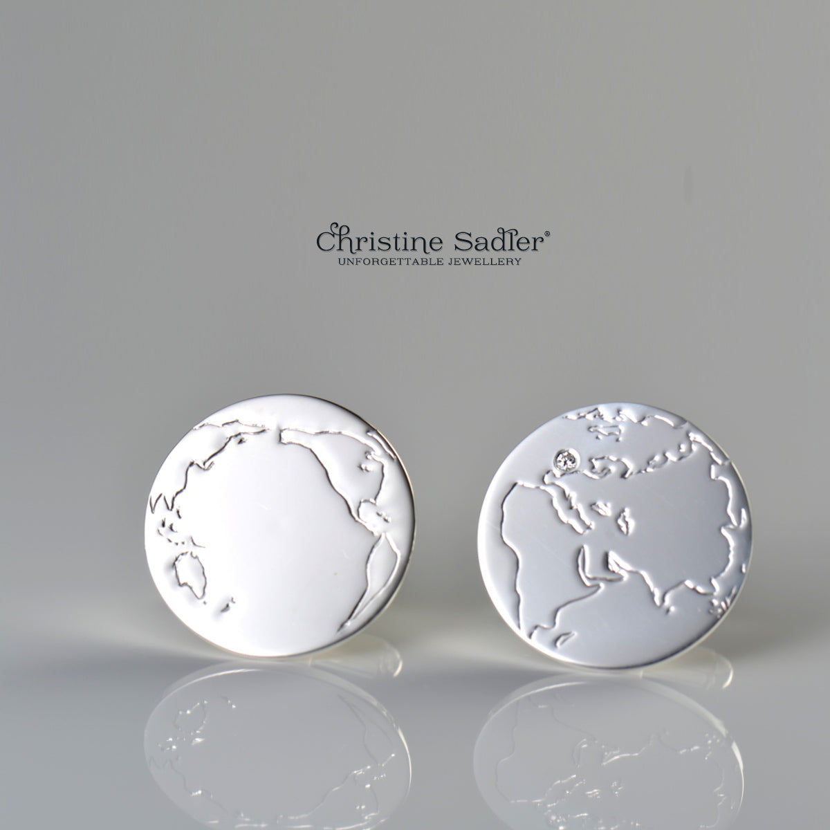 world-map-diamond-cufflinks
