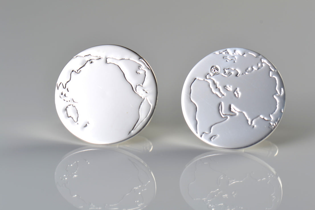 world-map-cufflinks-sterling-silver