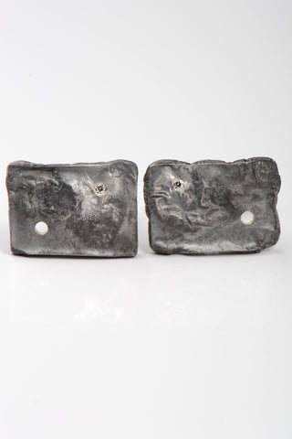 Beautiful Silver Bar Earrings
