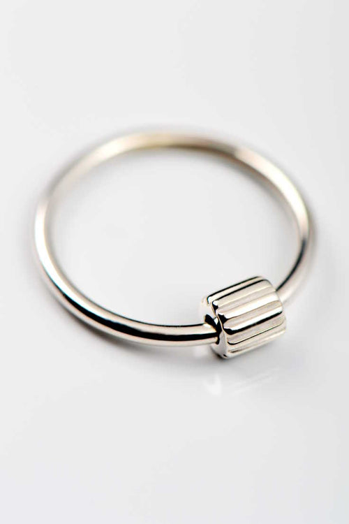 Bella Figura Ditalini silver ring - Unforgettable Jewellery