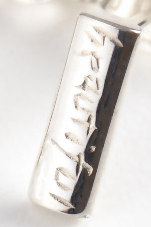 Beautiful Silver Bar Earrings - Unforgettable Jewellery