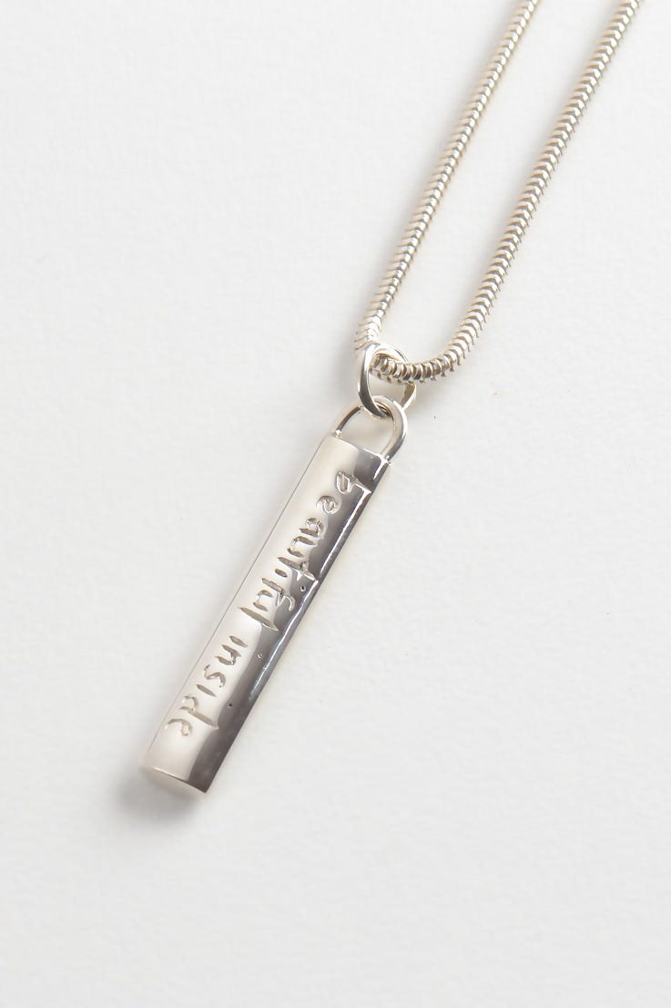 Beautiful Large Bar Pendant - Unforgettable Jewellery