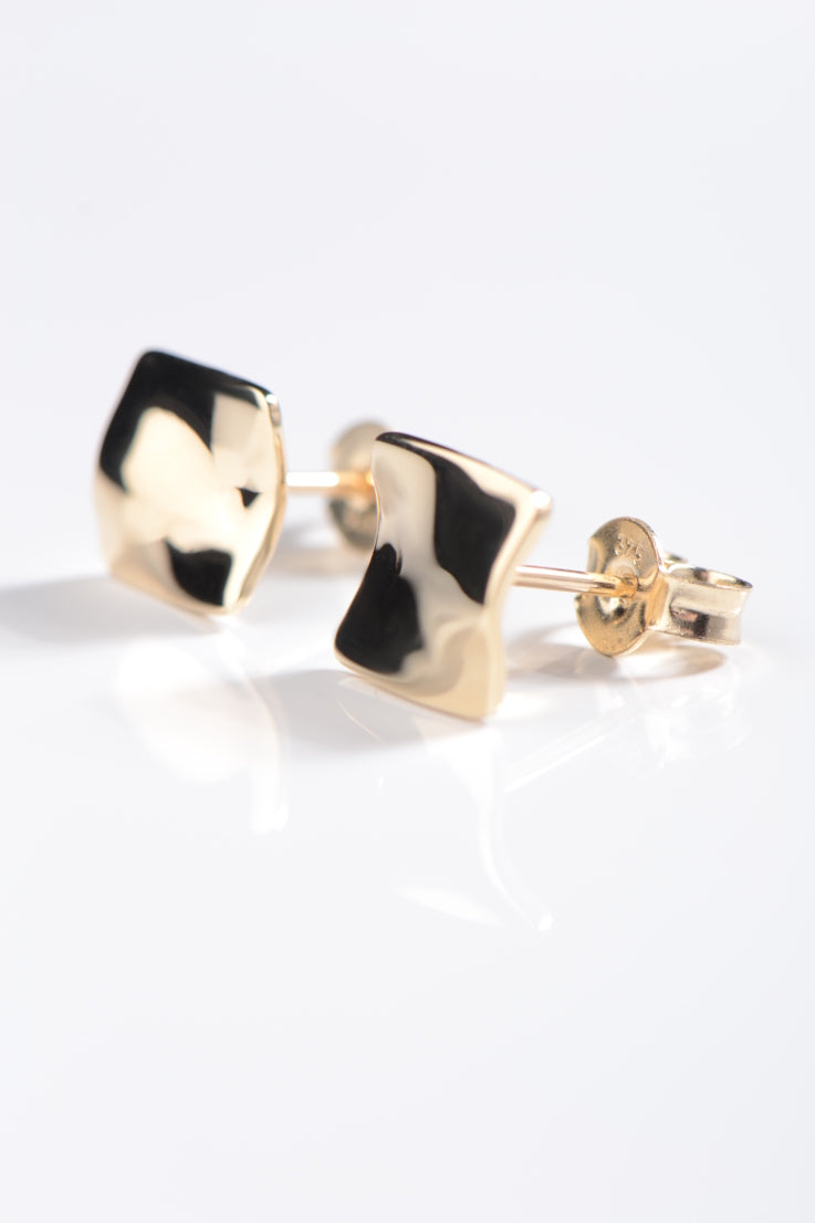 Bella Figura Mafaldine gold earrings - Unforgettable Jewellery