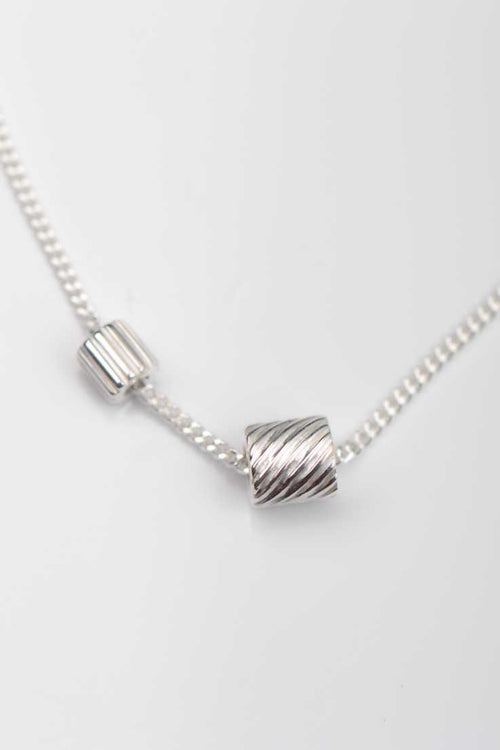 Bella Figura Ditalini and Ditali silver pendant - Unforgettable Jewellery