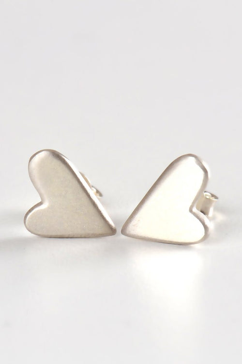 From the heart large studs - Unforgettable Jewellery