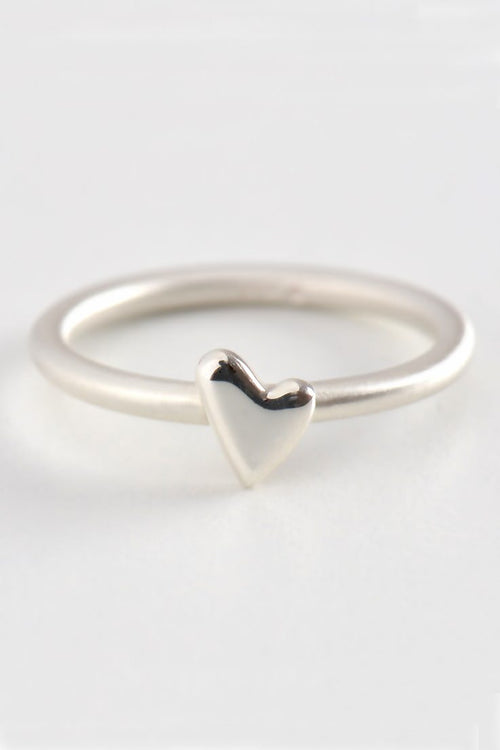 From the heart small heart ring