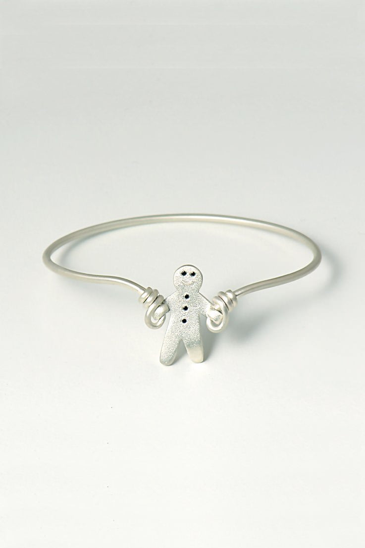 Gingerbread baby bangle - Unforgettable Jewellery