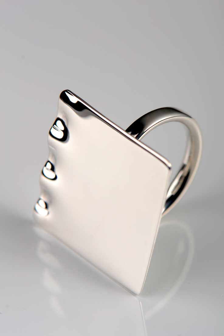 Bella Figura Mafaldine square ring - Unforgettable Jewellery