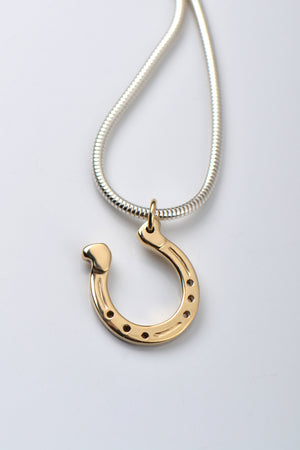 Horseshoe pendant - Unforgettable Jewellery