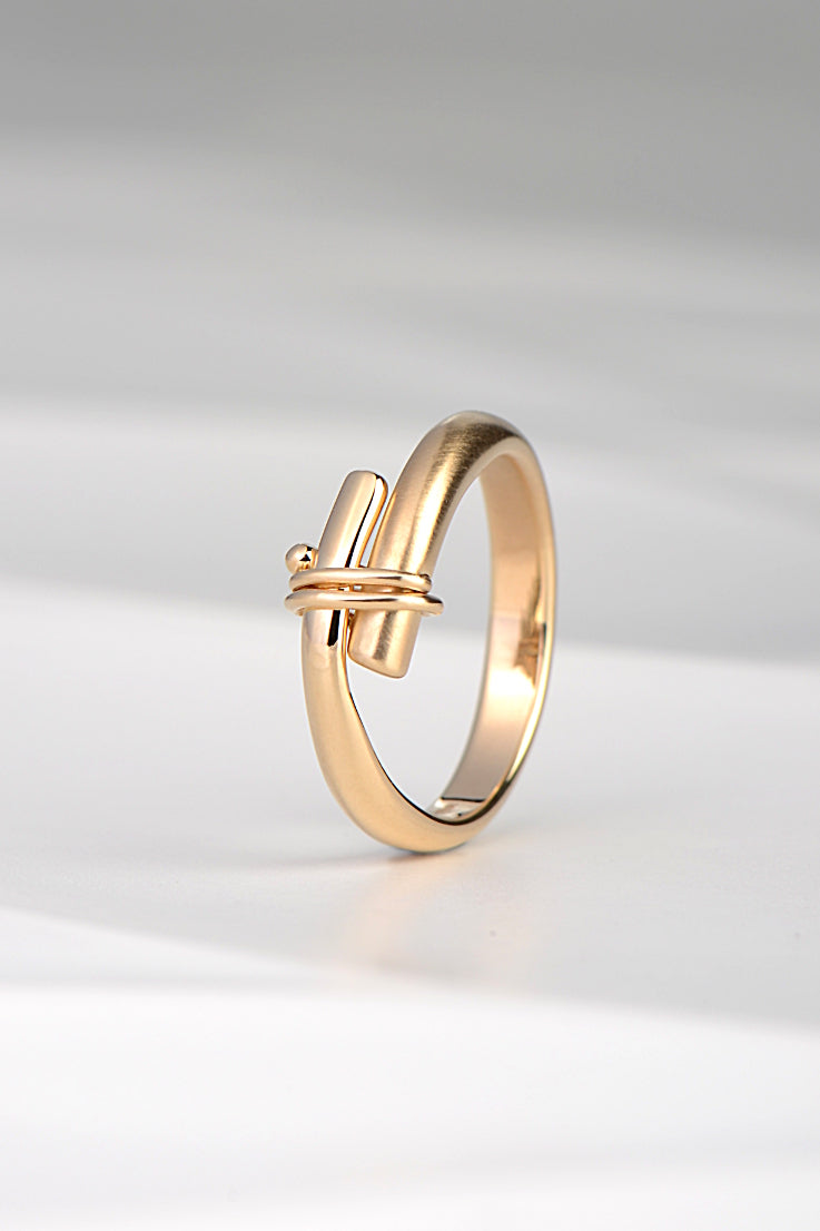 Stay Together 9ct gold ring