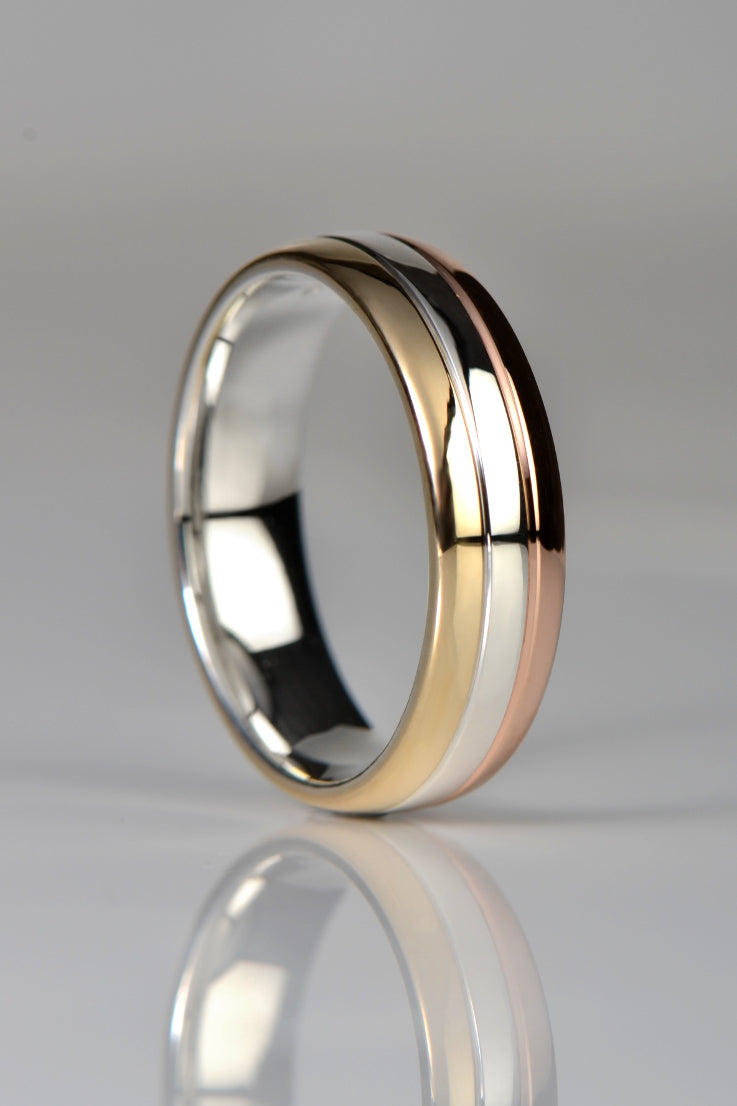 Affinity wedding ring