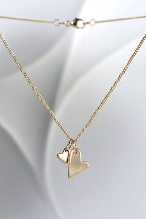 From The Heart yellow gold pendant