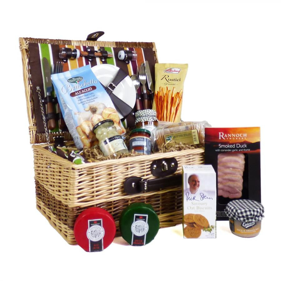 Picnic Baskets with Food