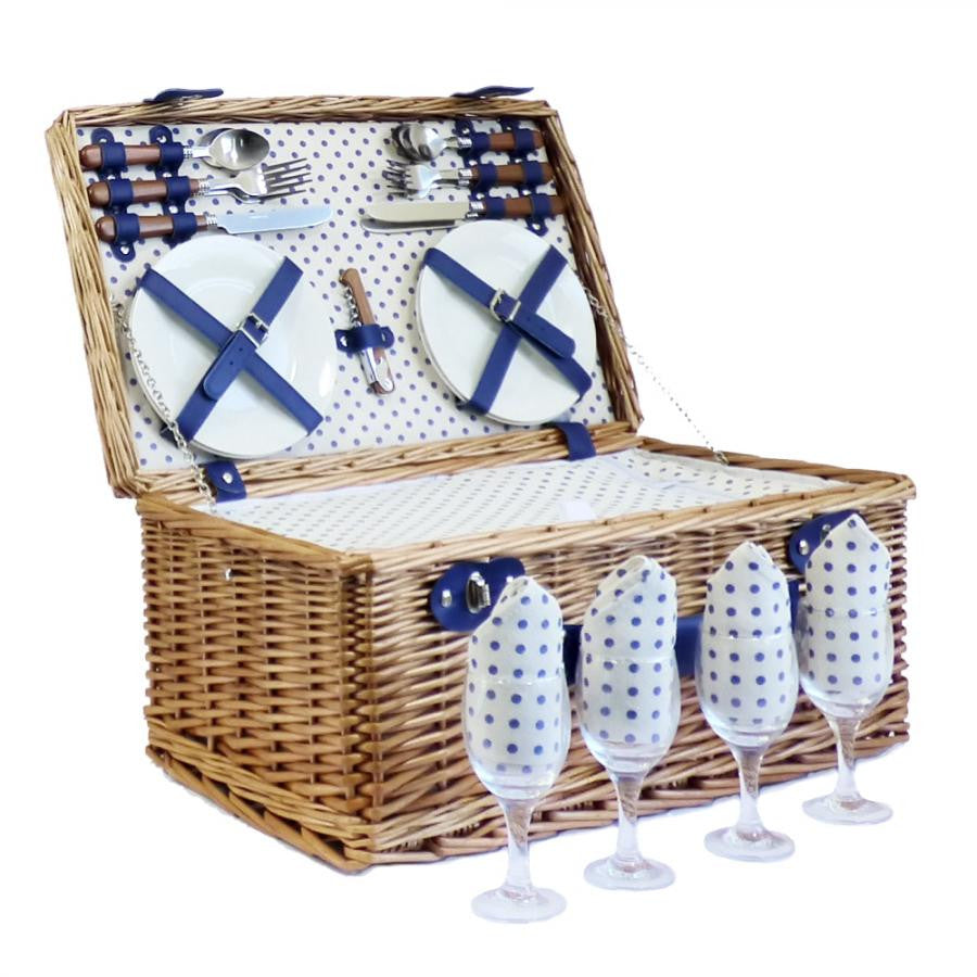 4 Person Picnic Baskets