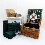 Appreciation gifts The Ashby 2 Person Wicker Picnic Basket