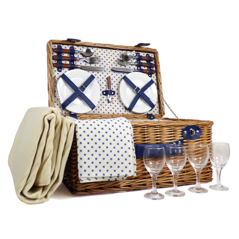 corporate gift ideas - 4 person picnic basket