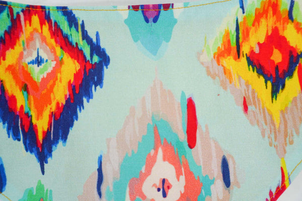 Cute ikat pattern for dog bandana