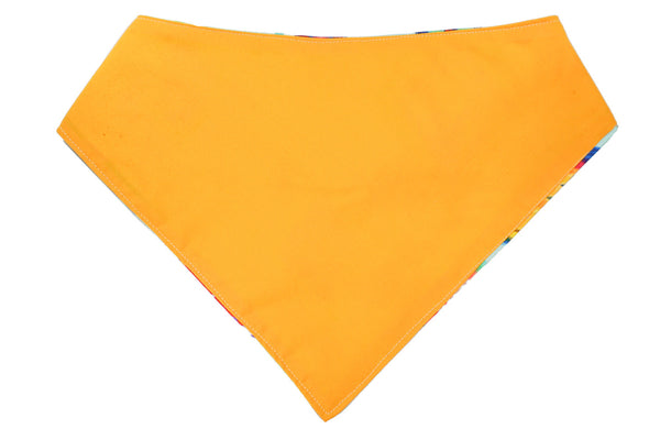 Pretty golden dog bandana