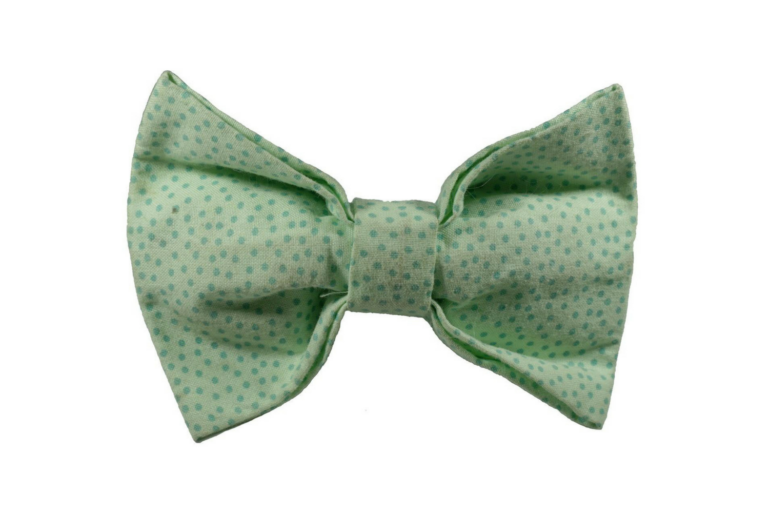 "Green Polka Dot Bow ""Happy Day"""