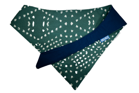 "Personalized Green Burst Dog Bandana ""It Ain't Easy Being Green"""