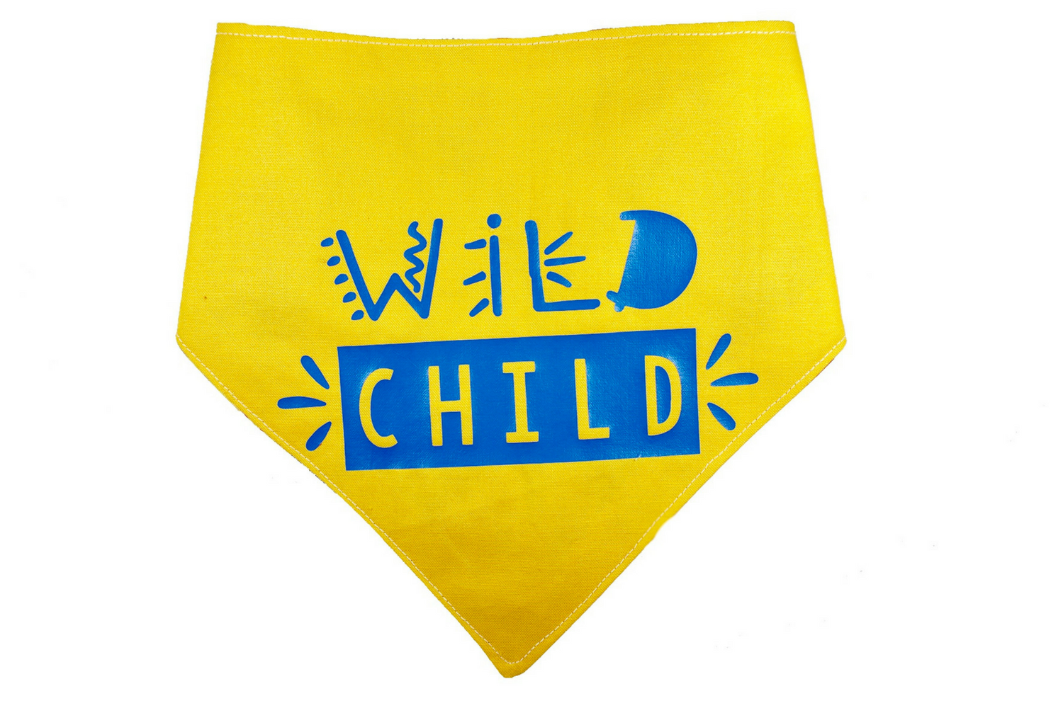 """Wild Child"" Ikat Print Dog Bandana"