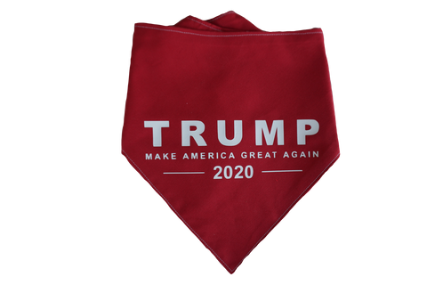 """Make America Great Again"" Trump For President Dog Bandana"