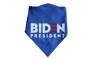 Dog bandana joe biden