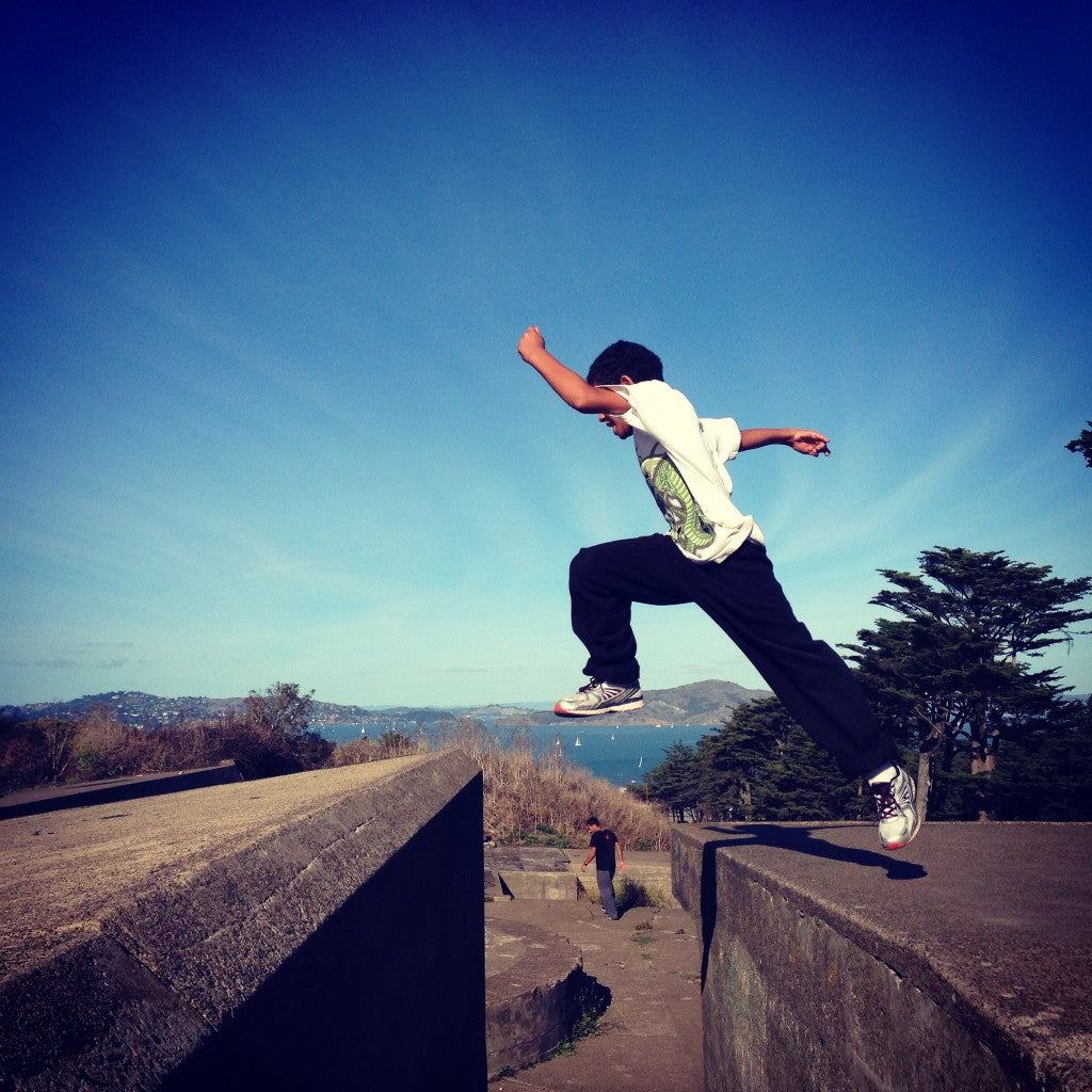 Parkour for Primary School (PS) Students
