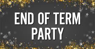 End of Term Drinks Event Ticket