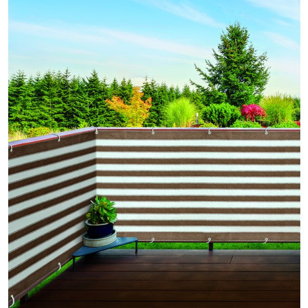 Ideaworks Deck & Fence Privacy Screen- Brown