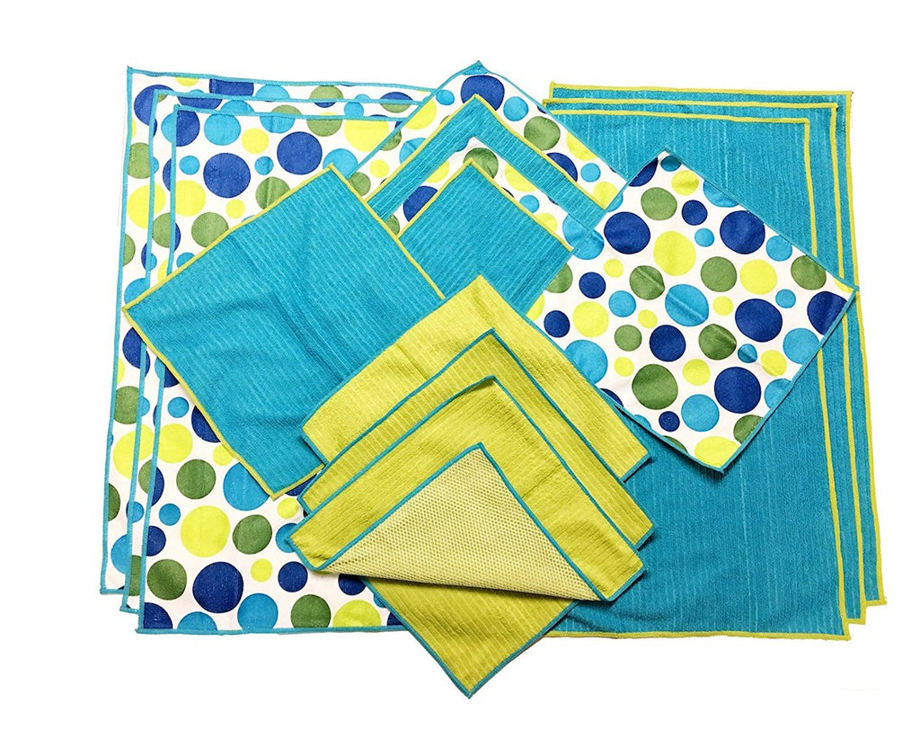 15 Piece Microfiber Towel Set